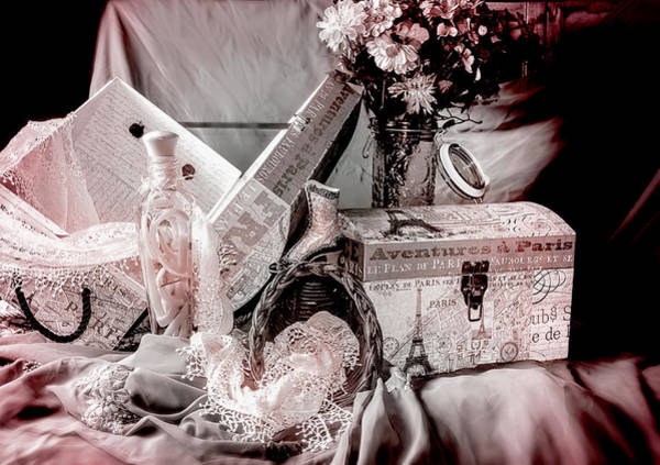 Tin Box Photograph - The Softer Side by Camille Lopez