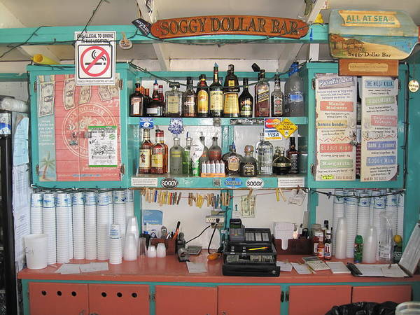 Jost Photograph - The Soggy Dollar Bar by Eric Glaser