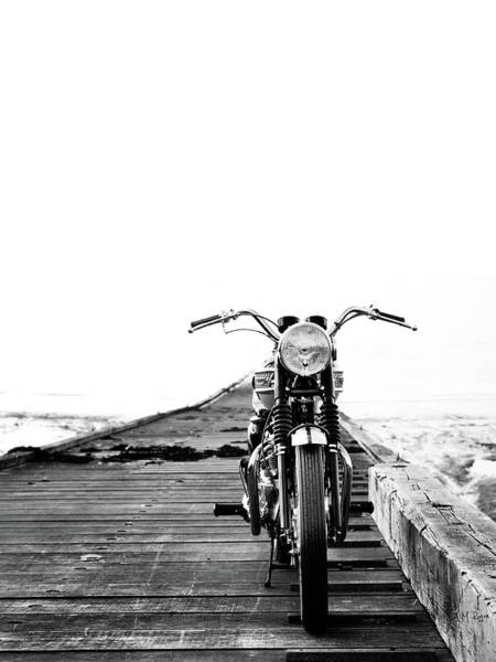 Harley-davidson Photograph - The Solo Mount by Mark Rogan