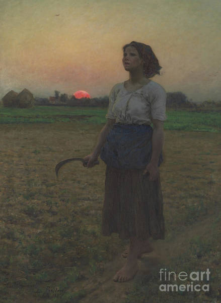 Wall Art - Painting - The Song Of The Lark by Jules Breton