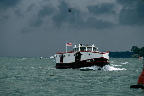Wall Art - Photograph - The Sonny S Returning From Lonz Winery On Middle Bass Island by John Harmon