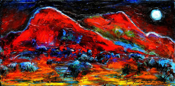 Painting - The Sound Of The Night by Jeremy Holton