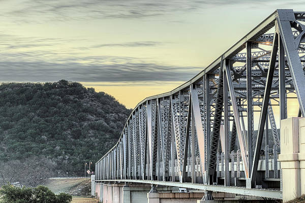 Wall Art - Photograph - The South Llano River Bridge by JC Findley