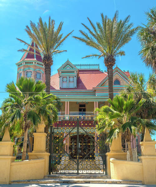 Palm House Photograph - The Southern Most House Duval Street Florida by Betsy Knapp