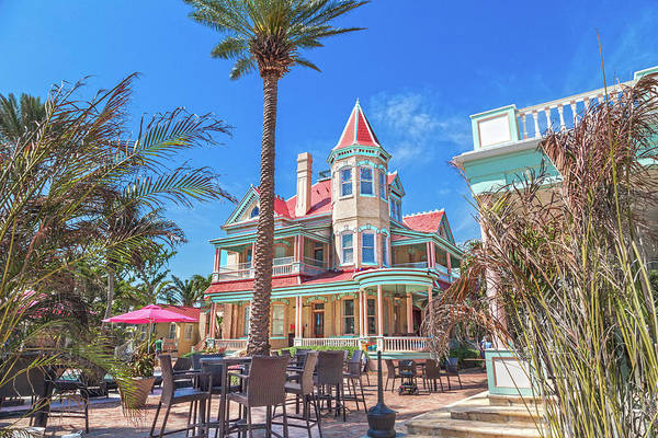 Palm House Photograph - The Southern Most House Key West by Betsy Knapp