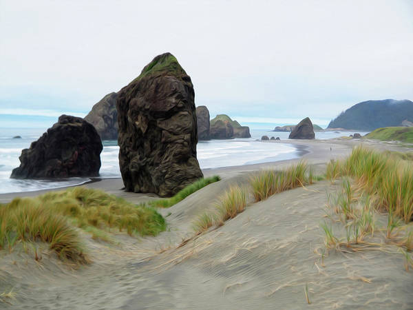 Oregon Dunes Photograph - The Southern Oregon Coast by Joe Schofield