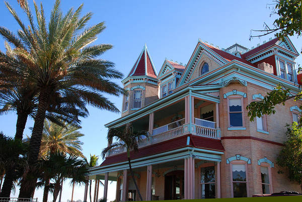 Photograph - The Southernmost House In Key West by Susanne Van Hulst