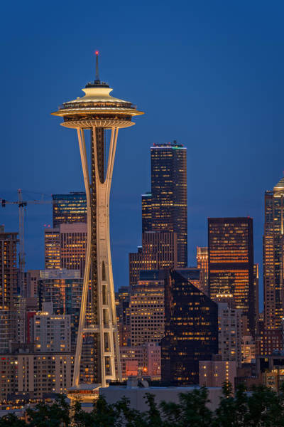 Photograph - The Space Needle by Rick Berk