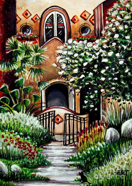 Painting - The Spanish Gardens by Elizabeth Robinette Tyndall