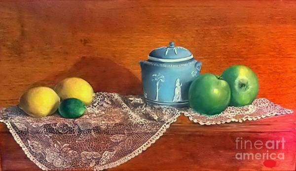 Wall Art - Painting - The Spice Jar by Patricia Lang