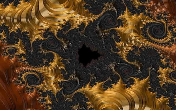Digital Art - The Spiral Coast by Paisley O'Farrell