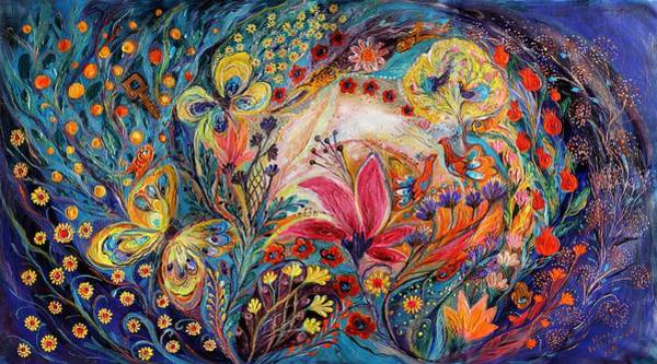 Kabbalistic Wall Art - Painting - The Spiral Of Life by Elena Kotliarker
