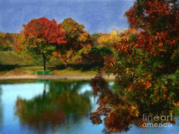 The Spirit Of Autumn Art Print