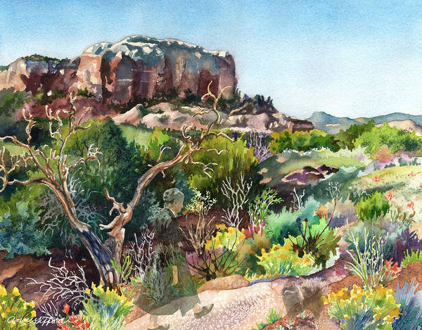 Painting - The Spirit Of Ghost Ranch by Anne Gifford