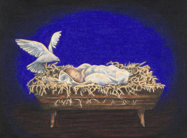 Drawing - The Spirit Of Peace by Laurie Tietjen