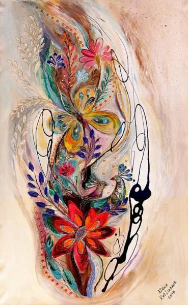 Wall Art - Painting - The Splash Of Life 10 by Elena Kotliarker