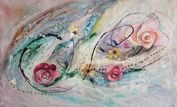 Wall Art - Painting - The Splash Of Life 29. The Flowers by Elena Kotliarker