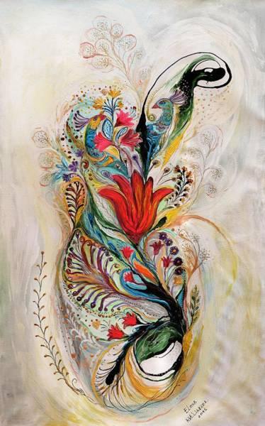 Wall Art - Painting - The Splash Of Life 8 by Elena Kotliarker