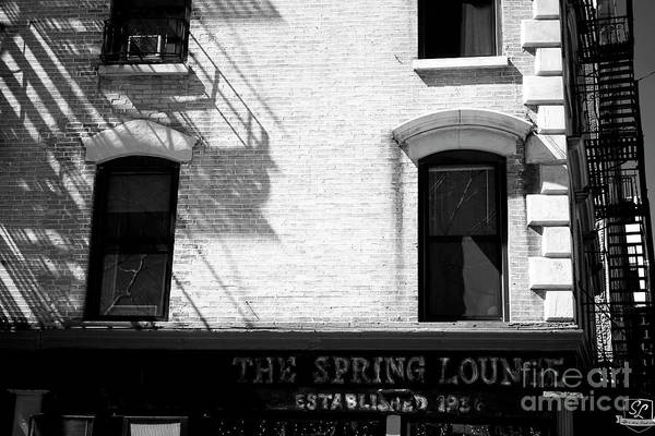 Photograph - The Spring Lounge by John Rizzuto