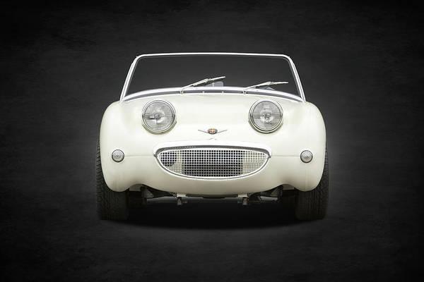 Healey Photograph - The Sprite Mk1 by Mark Rogan