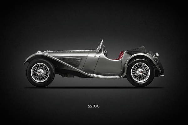 1937 Photograph - The Ss100 1937 by Mark Rogan