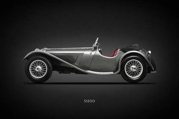 1937 Wall Art - Photograph - The Ss100 1937 by Mark Rogan