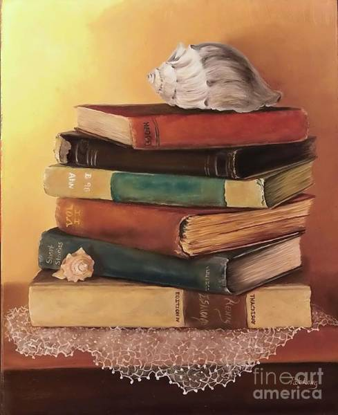 Wall Art - Painting - The Stack by Patricia Lang