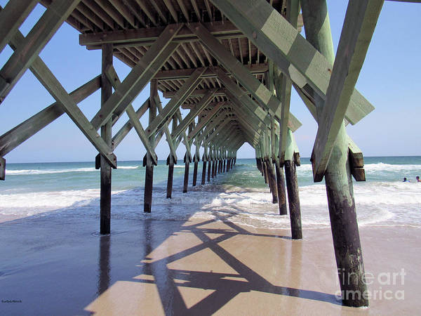 Photograph - The Stance Of The Pier by Roberta Byram
