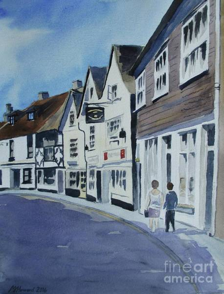 Half Timbered Painting - The Standard Inn, Rye by Martin Howard