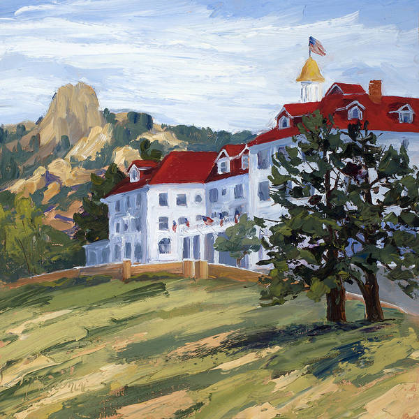 Painting - The Stanley by Mary Giacomini