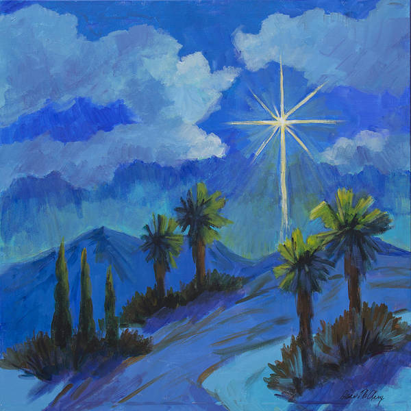 Star Of Bethlehem Painting - The Star by Diane McClary