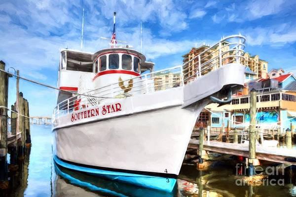Photograph - The Star Of Destin Harbor by Mel Steinhauer