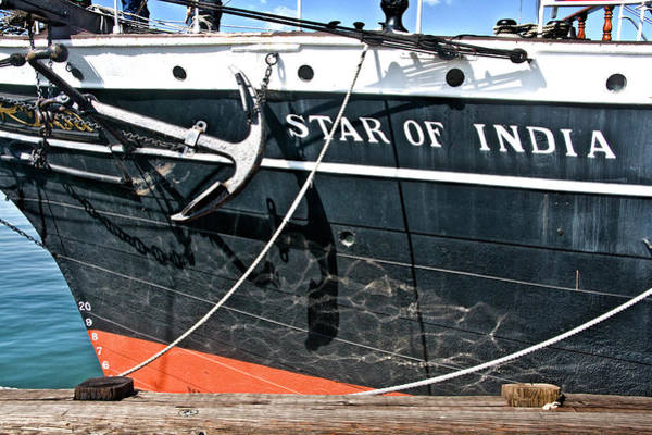 Photograph - The Star Of India Ship by Randall Nyhof