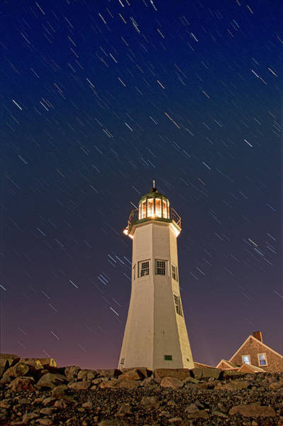 Photograph - The Star Of Old Scituate Light by Thomas Gaitley