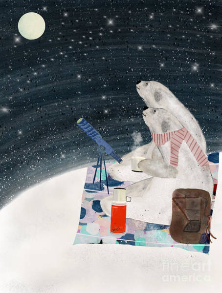 Wall Art - Painting - The Stargazers by Bri Buckley