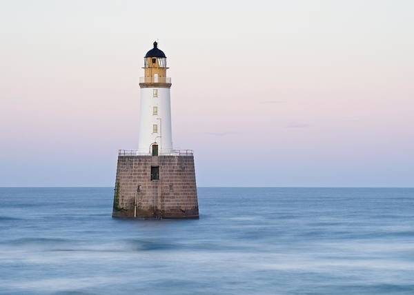 Photograph - The Start Of Twilight At Rattray Head by Stephen Taylor