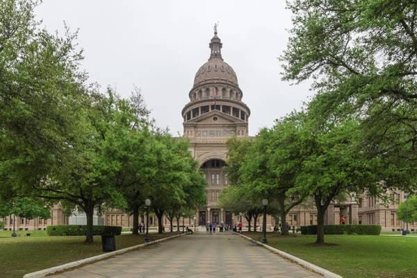 Photograph - The State Capital Of Texas by Usha Peddamatham