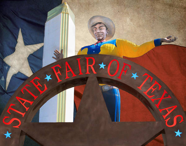 Wall Art - Photograph - The State Fair Of Texas by David and Carol Kelly