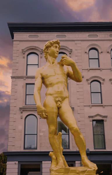 Wall Art - Photograph -  The Statue Of David by Art Spectrum