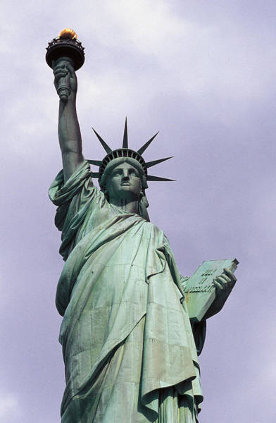 Wall Art - Photograph - The Statue Of Liberty by Auguste Bartholdi