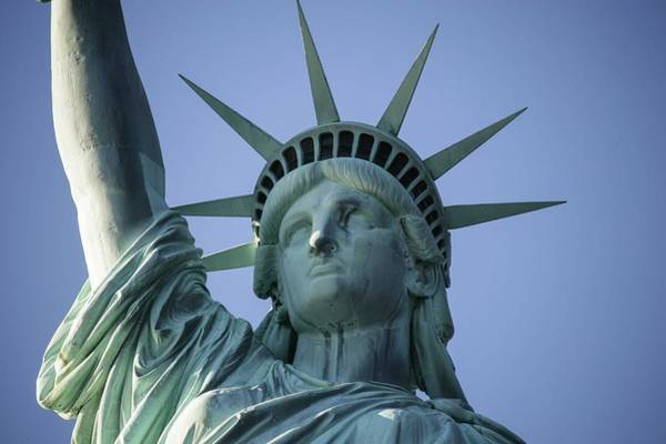 Painting - The Statue Of Liberty In New York City 5 by Celestial Images