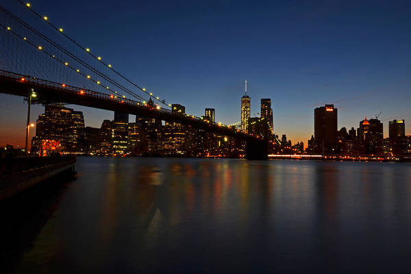 Photograph - Brooklyn Bridge In New York City by Toby McGuire