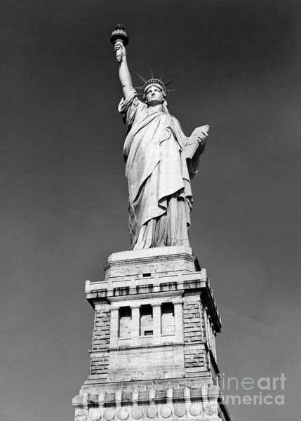 Wall Art - Photograph - The Statue Of Liberty  Photo by American School