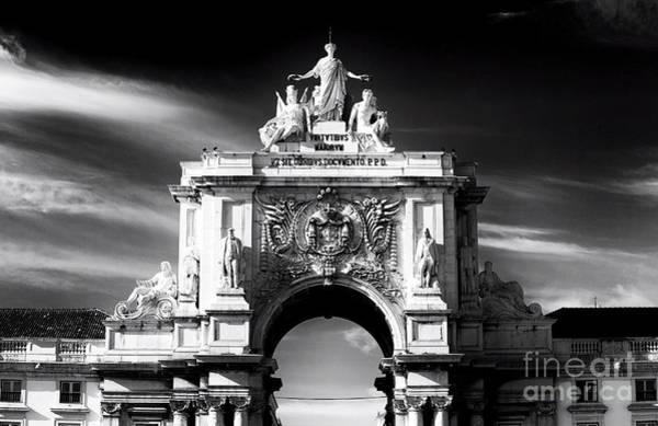 Wall Art - Photograph - The Statues Of Lisbon by John Rizzuto