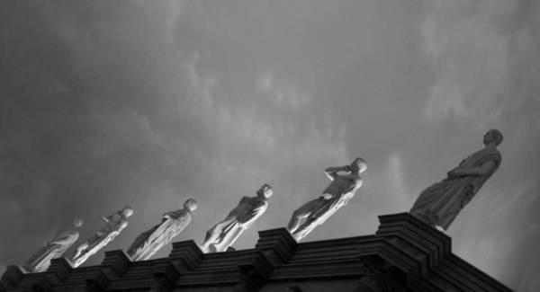 Roms Photograph - The Statues  by Art Spectrum