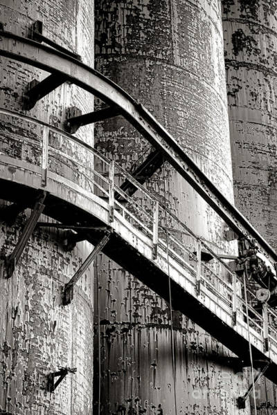 Guard Tower Wall Art - Photograph - The Steel Citadel by Olivier Le Queinec