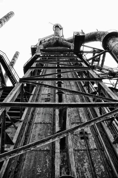 Photograph - The Steel Plant In Black And White by Bill Cannon