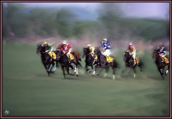 Photograph - The Steeple Chase by Wayne King