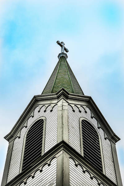 Photograph - The Steeple by Onyonet  Photo Studios