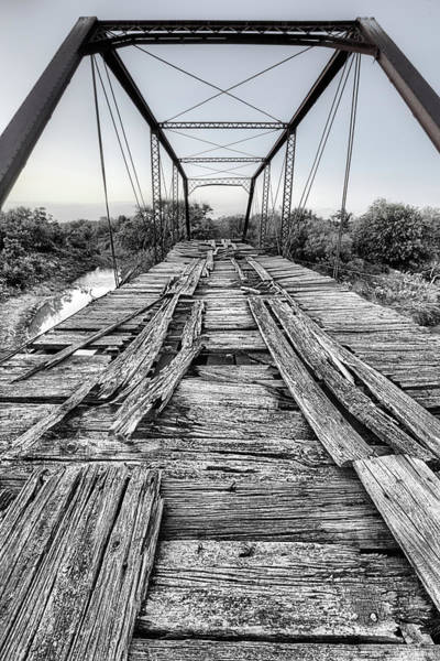Wall Art - Photograph - The Steinman Bridge Black And White by JC Findley